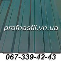 Профнастил зеленый  ПС-12 RAL 6005 Винница