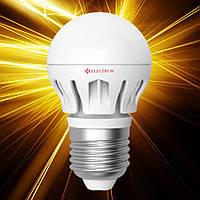 Светодиодная лампа ELECTRUM D45 6W Е27 AL LB-14