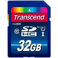 Карта пам'яті Transcend SDHC 32GB (CLASS 10) UHS-I Premium (X300)