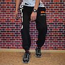 Мужские черные спортивные штаны, фото 2