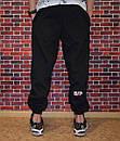 Мужские черные спортивные штаны, фото 3