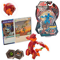"Игра ""Бакуган"" SB602-13 BK динозавр, 7,5 см, 2 цвета на планшете."