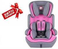 Автокресло детское Lionelo Levi Plus, 9-36 кг, розовое