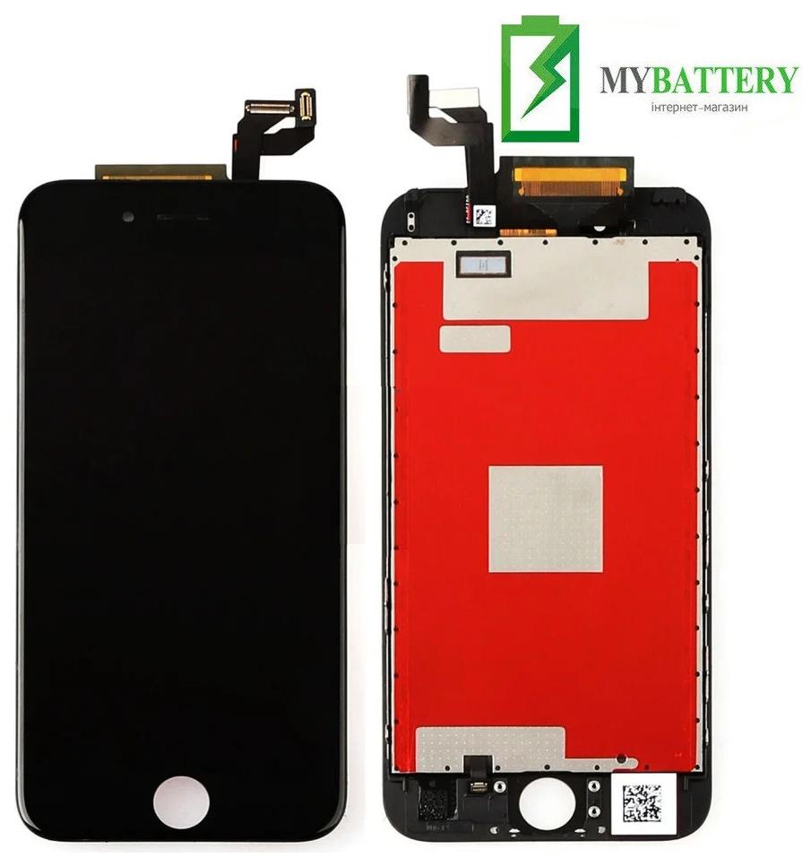 Дисплей (LCD) iPhone 6S с сенсором черный оригинал