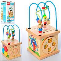 Деревянная игрушка центр, развивающий MD 2188