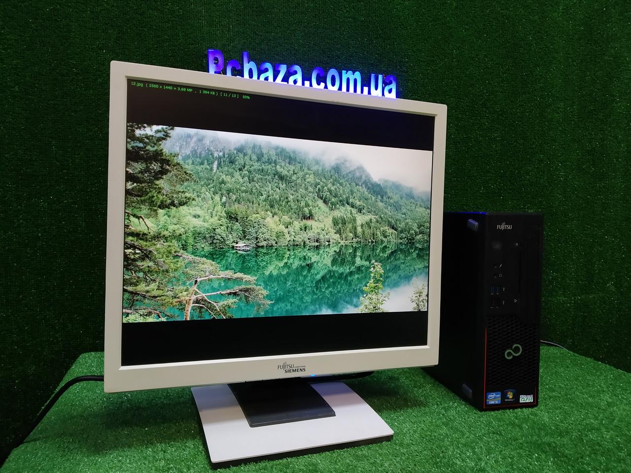 """ПК +монитор 19"""", i3-3220 3.3, 4 ГБ, 500 Гб, 2xCOM, 10 USB, USB 3.0 Настроен. Германия! ОПТ"""