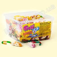 Вкуснейшие жевательные конфеты Trolli  «мышки» (1200 грамм) - символ 2020 года, легендарное немецкое качество, фото 1
