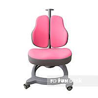 Ортопедическое компьютерное кресло для девочки от 4 до 18+ лет ТМ FunDesk Diverso Pink Розовый