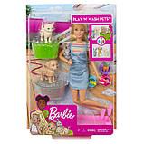 Набор Барби Купай и играй Barbie Wash Pets, фото 8
