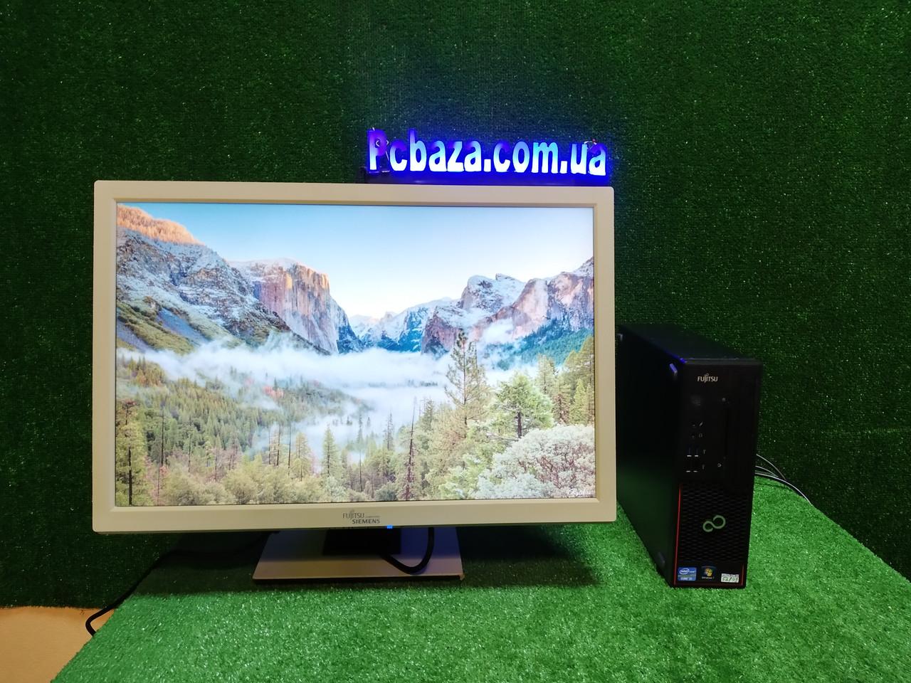 """ПК +монитор 24"""", i3-3220 3.3, 4 ГБ, 500 Гб, 2xCOM, 10 USB, USB 3.0 Настроен. Германия!"""