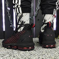 Кроссовки мужские Nike Jordan XDR (черные) Top replic, фото 2