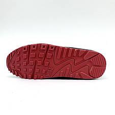 Кроссовки мужские Nike 90 vt (серые) Top replic, фото 2