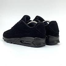 Кроссовки мужские Nike 90 vt (черные) Top replic, фото 2