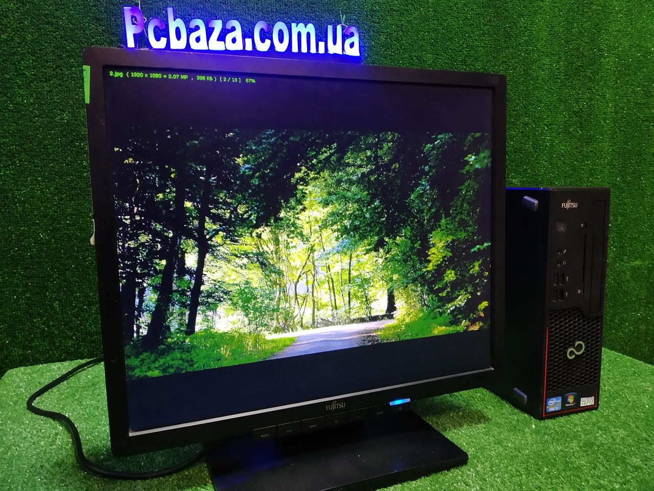 """ПК + монитор 19"""" LED, i3-3220 3.3, 4 ГБ, 500 Гб, 2xCOM, 10 USB, USB 3.0 Настроен. Германия!"""