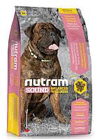 Сухой корм S8 Nutram Sound Balanced Wellness Large Breed Adult Dog для взрослых собак крупных пород, 20 кг