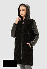 Куртка -пуховик женская зимняя размеры:42-48, фото 2