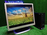 """ПК + монитор 19"""", i3-3220 3.3, 4 ГБ, 500 Гб, 2xCOM, 10 USB, USB 3.0 Настроен. Германия!, фото 1"""