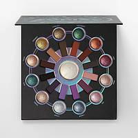 Палетка запеченных теней BH Cosmetics Zodiac - 25 Color Eyeshadow & Highlighter Palette