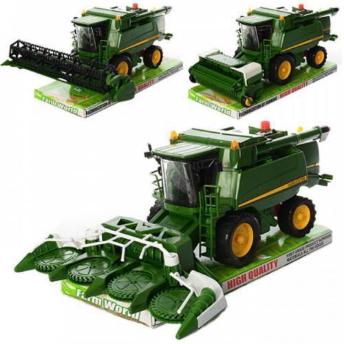 Дитячий ігровий комбайн FARM WORLD 8989-1-2-3 інерційний 32 см
