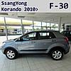 Молдинги на двери SsangYong Korando 2010>