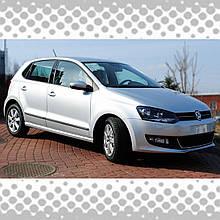 Молдинги на двері для Volkswagen Polo V 5dr / sedan 2009-2015