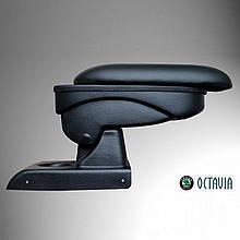 Підлокітник Armcik S1 з зсувною кришкою для Skoda Octavia III A7 2013-2020