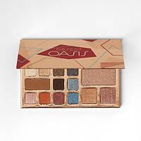 Палитра теней и хайлайтеров BH Cosmetics – Desert Oasis 19 Color Shadow & Highlighter Palette
