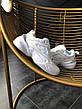 Кроссовки женские Nike M2K Tekno (полностью белые) Top replic, фото 6