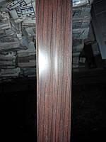 Куточок декоративний пластиковий універсальний ВЕНГЕ 25мм*25мм, фото 1