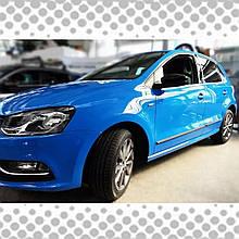 Молдинги на двері для Volkswagen Polo V 5dr / sedan lift. 2014-2017