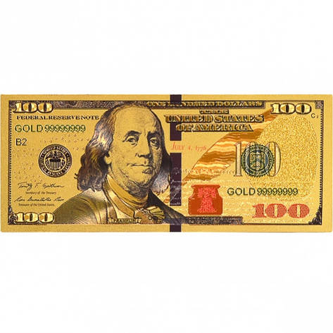 Магнит «100 Долларов» прямоугольный, фото 2