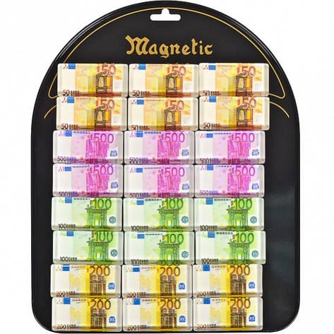 Магнит «Евро « прямоугольный 24 шт на планшетете, фото 2
