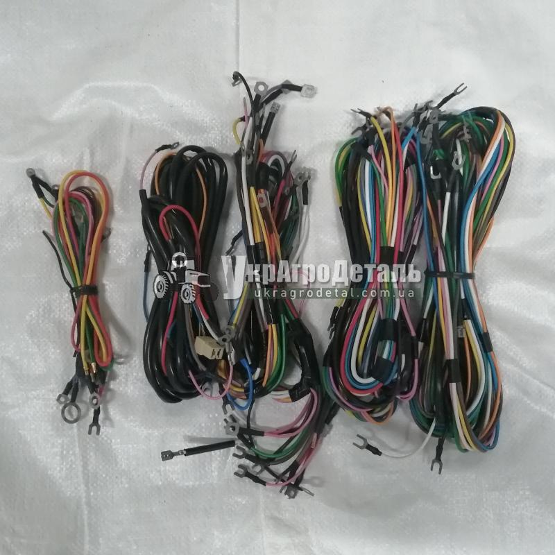 Электропроводка трактора ЮМЗ-6 (полный комплект проводов) 45-3700010-СБ