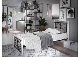 Кровать кованая Крокус Мини Тенеро (на деревянных ногах)