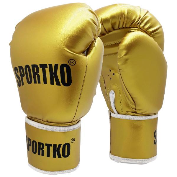 Боксерские перчатки ПД-1GOLD 12 унций.