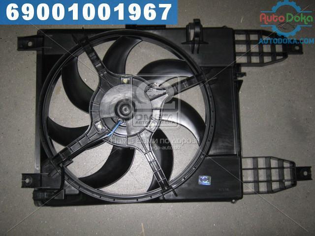 Вентилятор радиатора AVEO T255 VIDA (производство  PARTS-MALL)  PXNAC-034