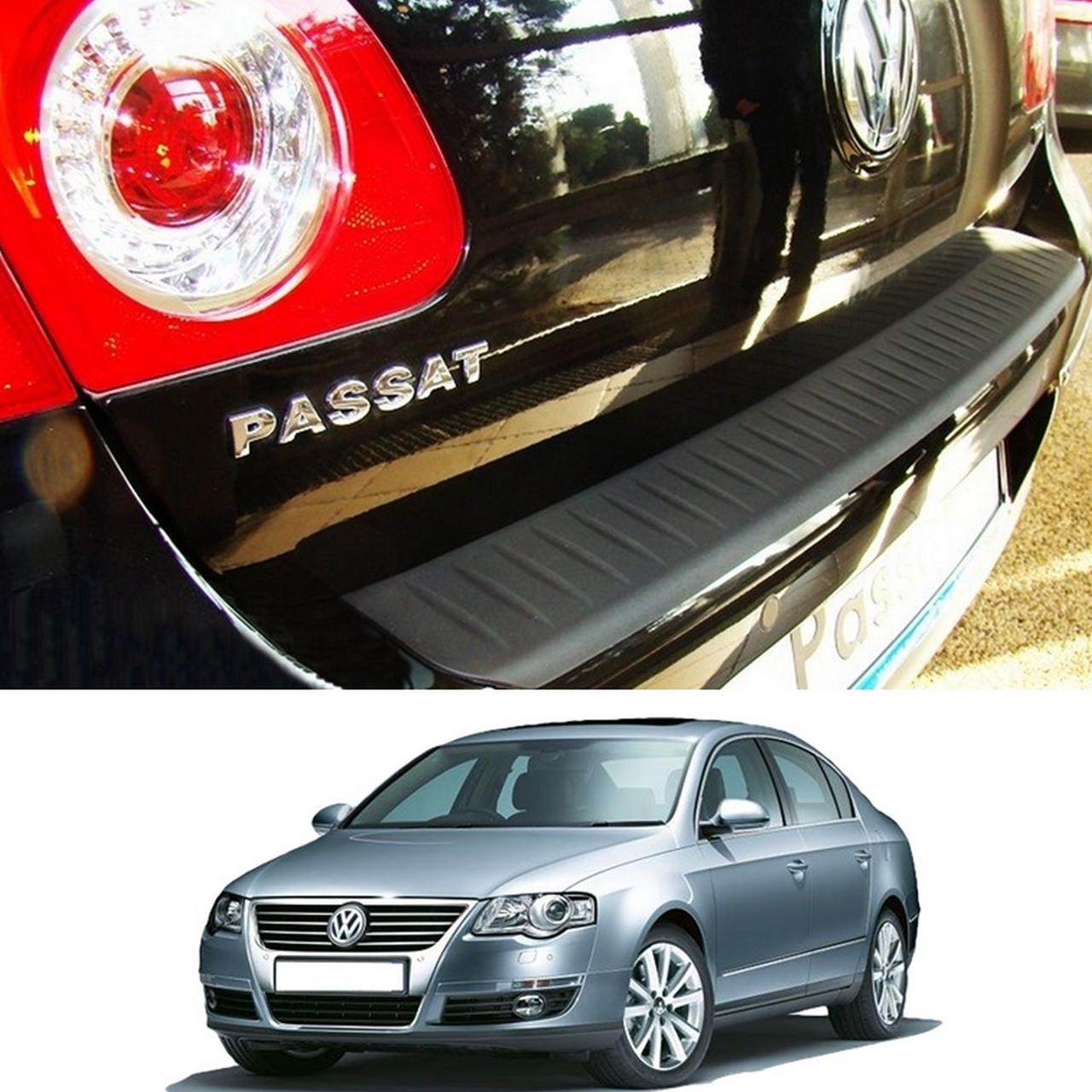 Volkswagen Passat B6 4dr sedan 2005-2010 пластиковая накладка заднего бампера