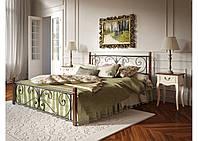 Кровать кованая Крокус (деревянные ножки) Тенеро 190(200) х 120, фото 1