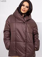 Коричневая куртка Размеры: 42, 44