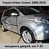 Молдинги на двери Toyota Urban Cruiser 2006-2016
