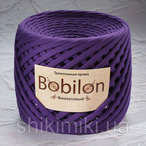 Трикотажная пряжа (3-5 мм), цвет Фиолетовый