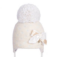 Шапка зимняя для новорожденной девочки Nikola 19 Z 326