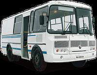 Лобовое стекло ПАЗ 3205 (Левое) (Автобус) (1986-)