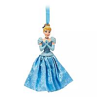 Ёлочные игрушки Дисней принцесса Золушка Disney Store Cinderella 2019