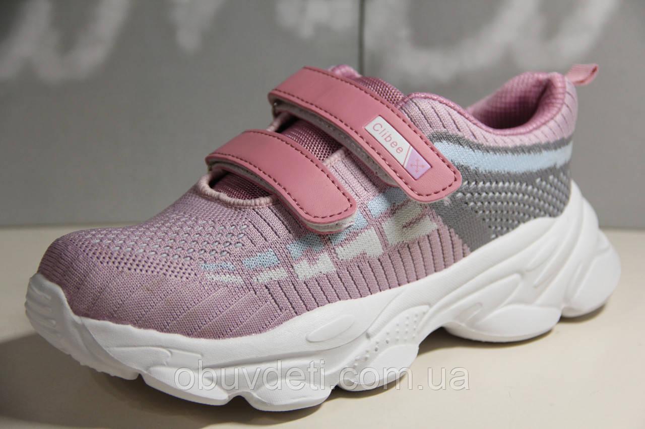 Качественные кроссовки CLIBEE  для девочек 32р. по стельке 20,0см