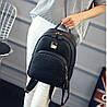 Жіночий рюкзак міський зі зміїним кишенею, фото 6