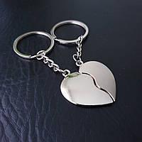 Парные брелки сердце, фото 1
