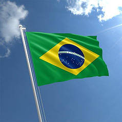 Флаг Бразилии Standart (1,5х1 м)