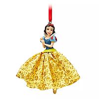 """Ёлочные игрушки Дисней Белоснежка """"Красавица и чудовище"""" Disney Store 2019"""