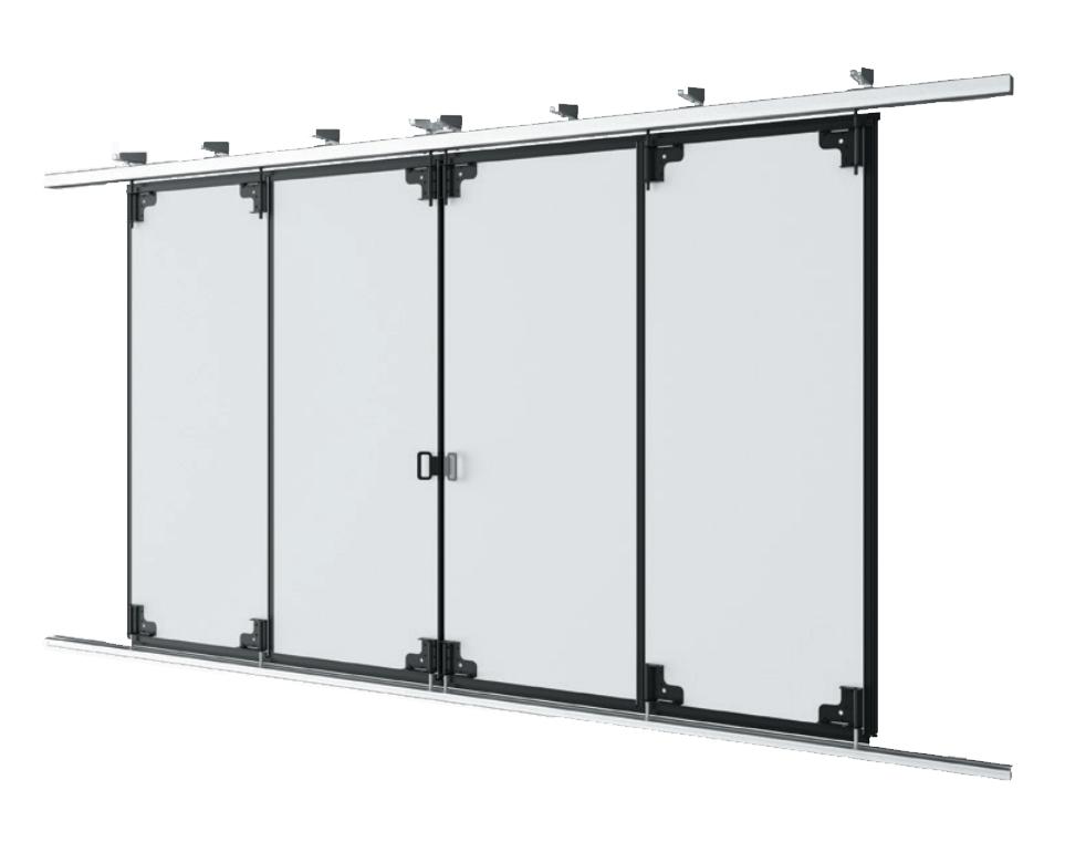 Откатные ворота промышленные DoorHan ISG-LG с нижней направляющей